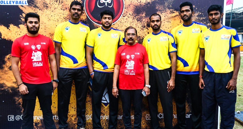 Chennai Spartans Players