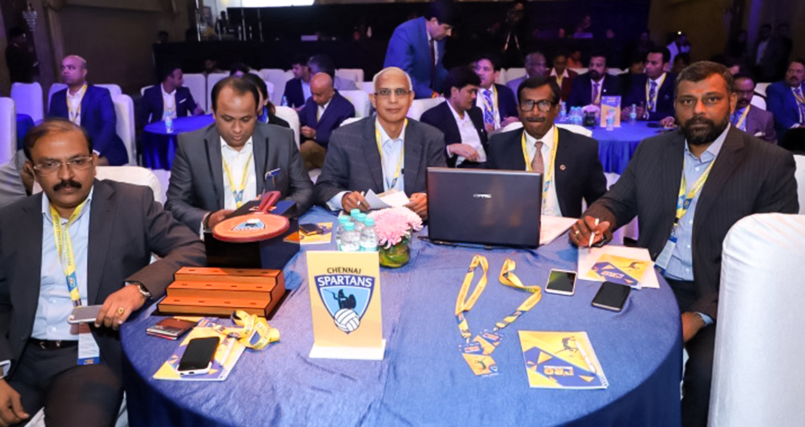 Auction for Chennai Spartans Players