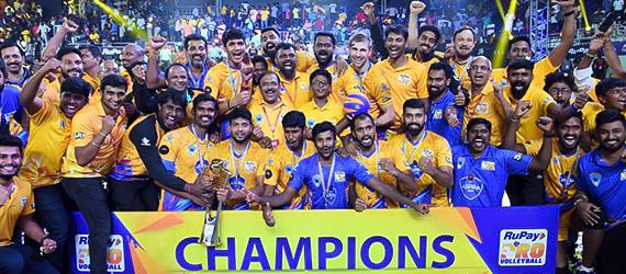 Champions – Chennai Spartans