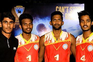 Panimalar Team Wish to Ashwin